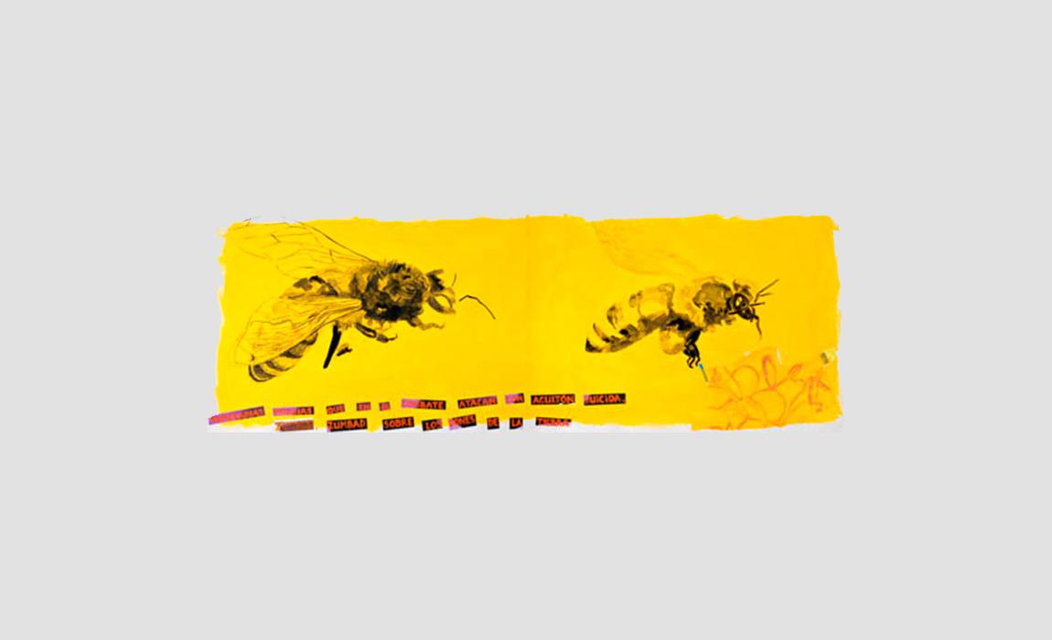 Multitud de la abeja